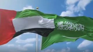 الصورة: Together Forever: UAE, Saudi Arabia celebrate 88th Saudi National Day