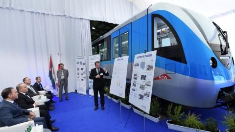 الصورة: First new Dubai Metro train to arrive next November: TRA