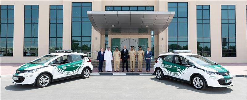 Etleboro The Chevrolet Bolt Ev Joins The Dubai Police Fleet
