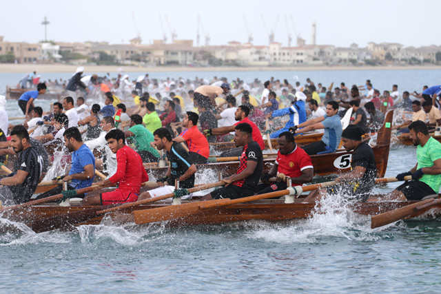 Rowing race first round kicks off this Friday