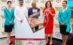 Photo: Dubai Duty Free announces two winners of $1m