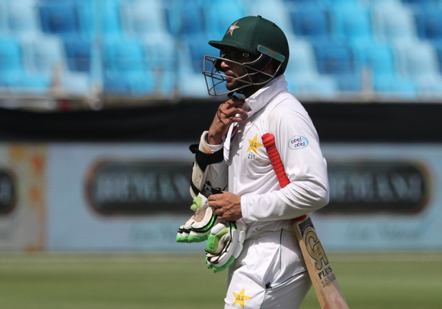 Pakistan's Imam out of second Test with finger injury