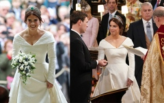 Photo: UK's Princess Eugenie marries Jack Brooksbank