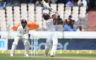 Photo: West Indies 295-7 at stumps in second India Test