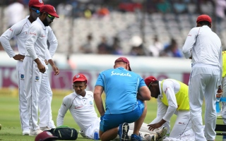 Photo: West Indies dismissed for 311 in second India Test