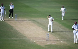 Photo: Holder removes Kohli to dent India's reply in 2nd Test