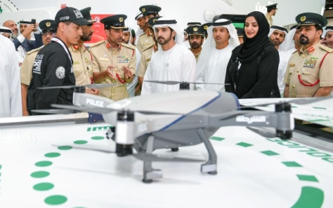 Photo: Hamdan bin Mohammed launches 38th GITEX Technology Week