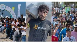 Photo: Sheikh Hamdan challenges society to join Dubai Fitness Challenge 2018