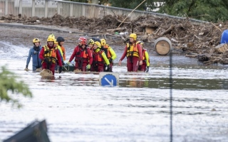 Photo: Flash floods kill at least 6 people in southwest France