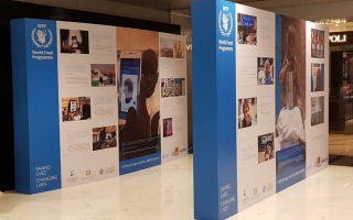 Photo: Hunger photo exhibit in Dubai marks world food day 2018