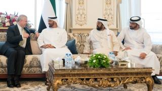 Photo: Mohamed bin Zayed receives Duke of York