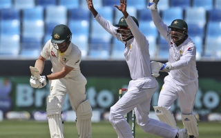 Photo: Sarfraz happy to respond to criticism with innings of 94