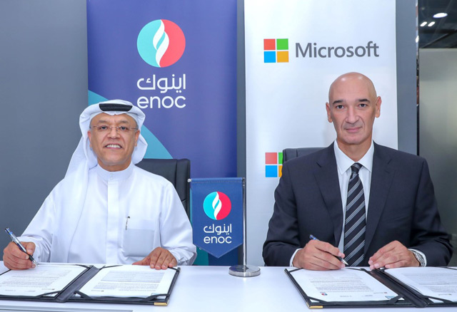 ENOC, Microsoft team up to pilot AI-powered service station of the future