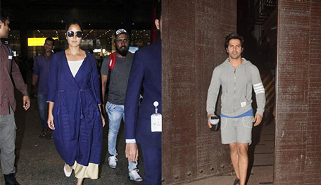 Varun and Katrina dance film shoot postponed