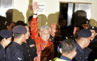 Photo: Malaysia ex-Deputy PM charged with graft, money laundering