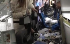 Photo: Severe turbulence injures 15 on flight to Buenos Aires