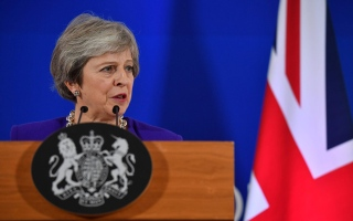 Photo: UK PM reassures business leaders over Brexit