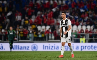 Photo: Ronaldo celebrates landmark goal but Juve's perfect run broken