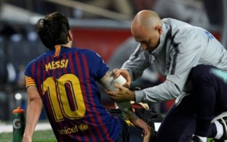 Photo: Messi injury gives Barca and Dembele chance to prove their worth