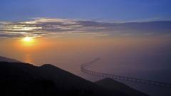 Photo: China opens mega-bridge linking Hong Kong to mainland