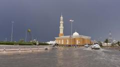 Photo: Windy, rainy weather expected for Sunday