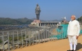Photo: Towering statue of India's independence leader unveiled