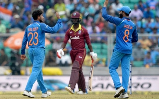 Photo: West Indies out for record low of 104 against India