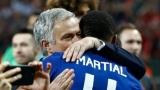 Photo: Mourinho hopes Martial will sign new Man Utd deal