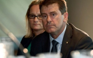 Photo: Taylor quits as Cricket Australia director