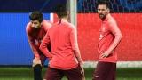 Photo: Messi could play, but Barca coach taking 'no risks' at Inter