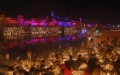 Photo: North Indian city breaks Guinness record with Diwali lamps