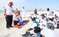 Photo: Children trained on water safety and rescue