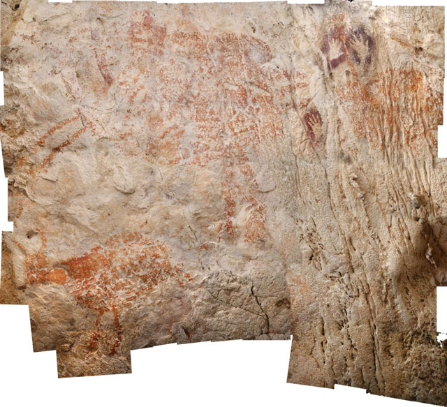 Oldest known animal drawing found in remote Indonesian cave