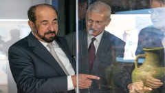 Photo: Sharjah Ruler inaugurates Mleiha Exhibition in Brussels