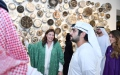 Photo: Maktoum bin Mohammed opens Jameel Arts Centre in Jaddaf Waterfront