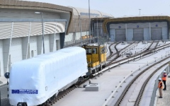 Photo: Dubai Metro takes delivery of first of 50 new trains