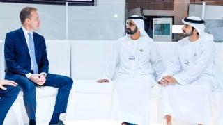 Photo: Mohammed bin Rashid receives WEF President