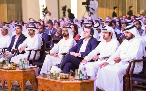 Photo: Mohammed bin Rashid attends Annual Meeting of WEF's Global Future Councils