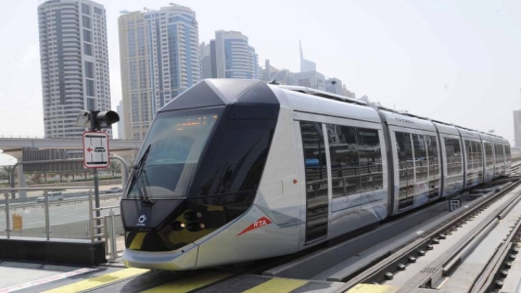 Photo: Dubai Tram serves 20 million passengers in 4 years