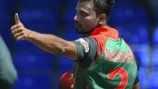 Photo: Star Bangladesh cricketer Mashrafe to stand in election