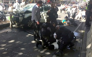 Photo: Driver guilty of murdering six in Australia car rampage