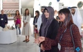 Photo: Latifa bint Mohammed Inaugurates the sixth Downtown Design
