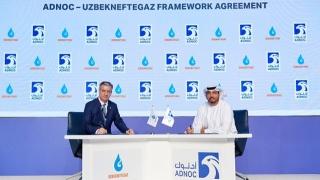 Photo: ADNOC signs framework agreement with Uzbekneftegaz