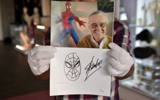 Photo: Marvel Comics legend Stan Lee dead at 95