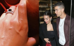 Photo: Cristiano Ronaldo is 'engaged'