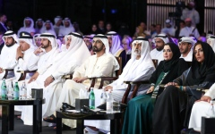 Photo: Sheikh Mohammed attends World Tolerance Summit