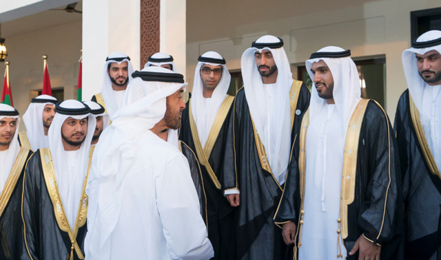 Photo: Mohamed bin Zayed attends group wedding