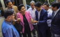 Photo: Imelda Marcos posts bail for graft conviction in Philippines