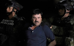 Photo: El Chapo got police escort after escape