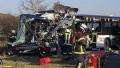 Photo: School children among dozens injured in German bus crash